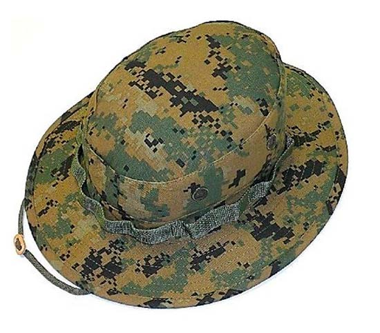 Панама R&B Tactical USMC Boonie Hat Woodland
