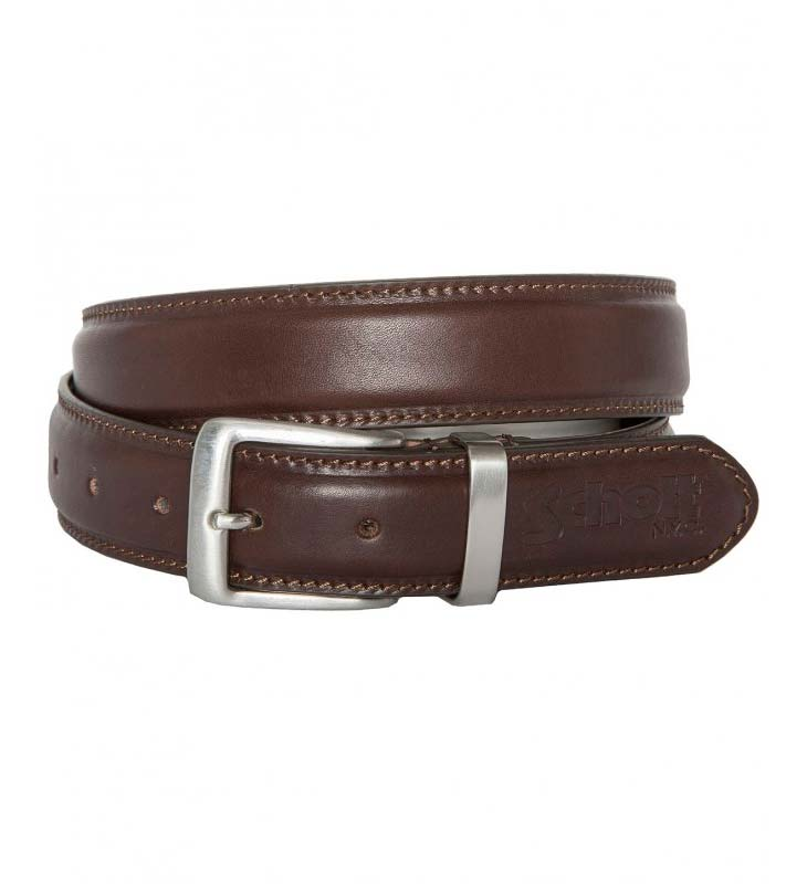Ремень SCHOTT 7308 Belt Brown