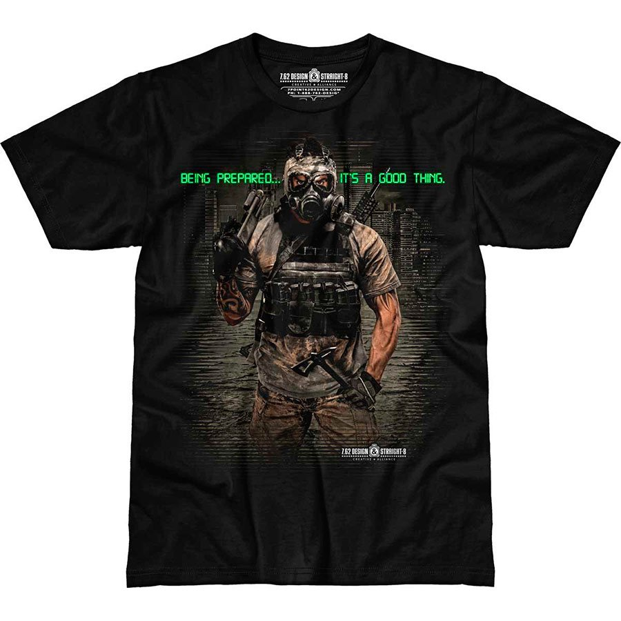 Футболка 7.62 Design Being Prepared Straight-8 Series Men's T-Shirt