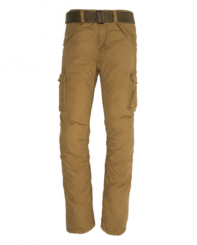 Брюки SCHOTT Man Schott military pants with belt