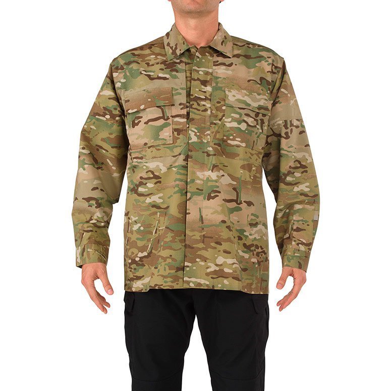 Рубашка 5.11 TACTICAL® 72013 RIPSTOP MULTICAM® TDU® LONG SLEEVE SHIRT