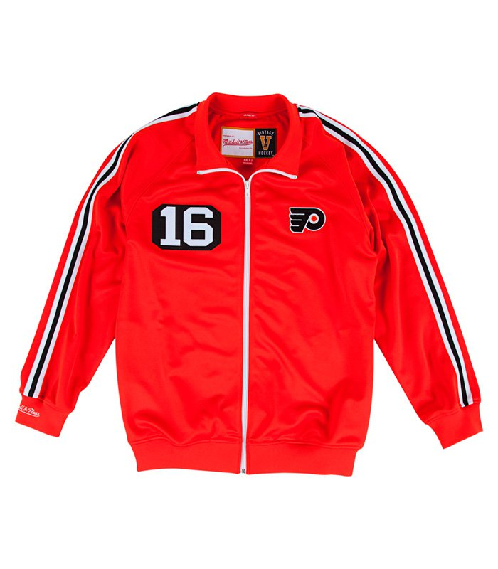 Олимпийка Bobby Clarke 1974-75 Authentic Warm Up Jacket Philadelphia Flyers
