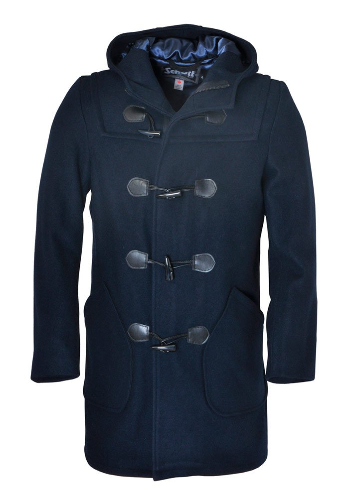 Пальто SCHOTT DU748 Satin Lined Duffle Coat
