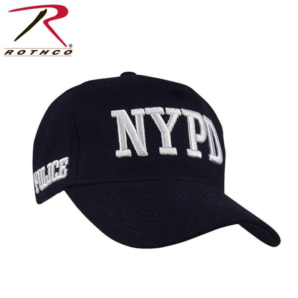 Бейсболка Rothco OFFICIALLY LICENSED NYPD ADJUSTABLE CAP