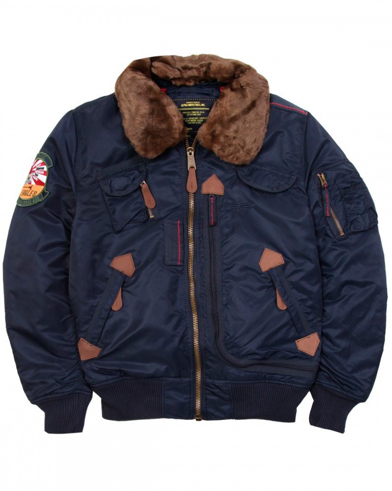 Куртка INJECTOR ALPHA INDUSTRIES REPLICA BLUE