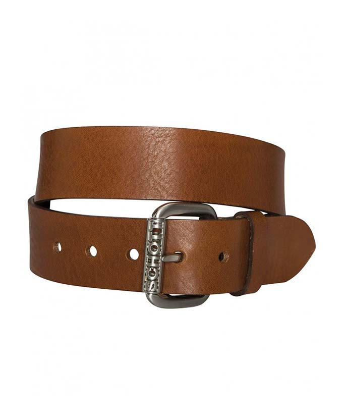 Ремень SCHOTT 1202 Belt Tobacco