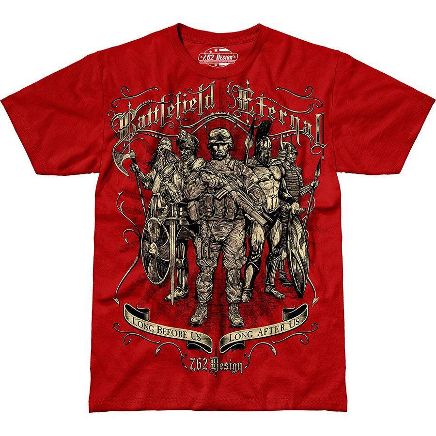 Футболка 7.62 Design Battlefield Eternal Premium Men's T-Shirt Scarlet