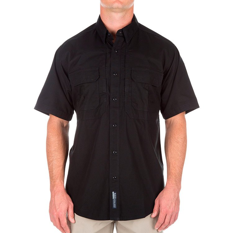 Рубашка 5.11 TACTICAL® SHORT SLEEVE SHIRT BLACK