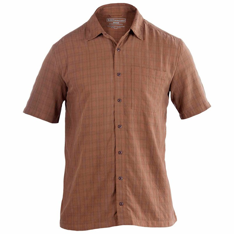 Рубашка 5.11 TACTICAL® SELECT COVERT SHIRT BATTLE BROWN