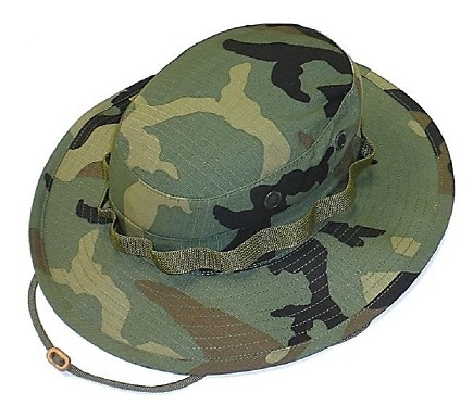 Панама R&B Tactical Boonie Hat Woodland Camouflage